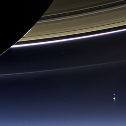 Earth from Saturn
