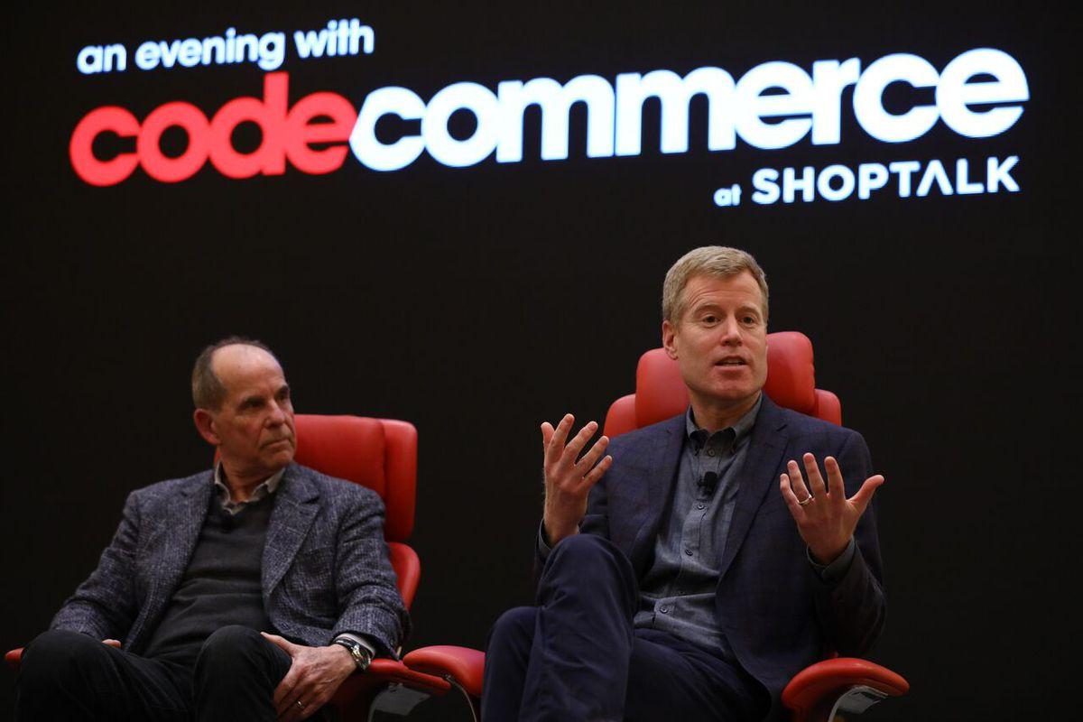 OneMarket CEO Don Kingsborough and Nordstrom co-President Erik Nordstrom
