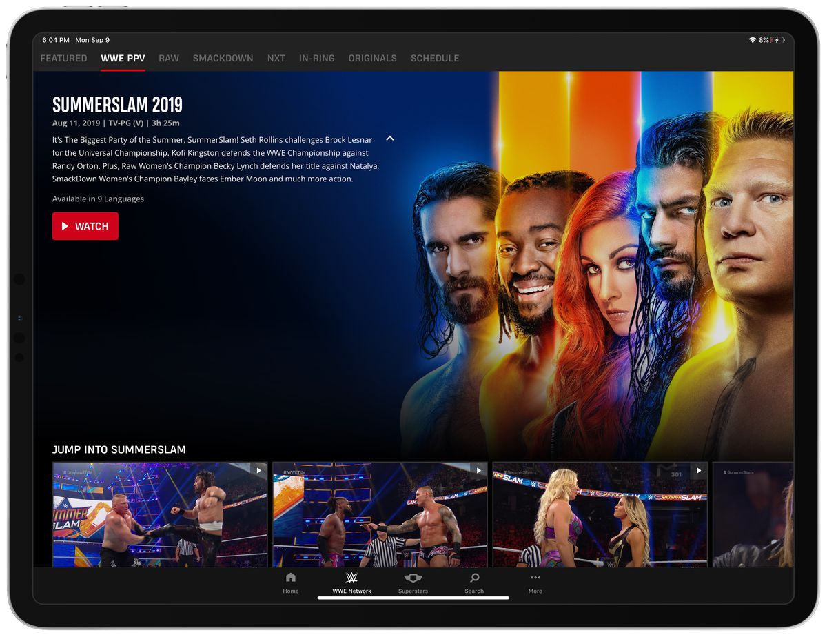 WWE Network 2 0: how WWE rebuilt its streaming service after