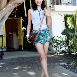 "Rachel of <a href=""http://www.thatschic.net/"">That's Chic </a>is wearing a Stylemint shirt, a <a href=""http://www.threadsence.com/pretty-boy-floral-print-skirt-by-one-teaspoon-p-7435.html?source=pjn&subid=73861"">One Teaspoon</a> skirt, Shoemint loafers, a"