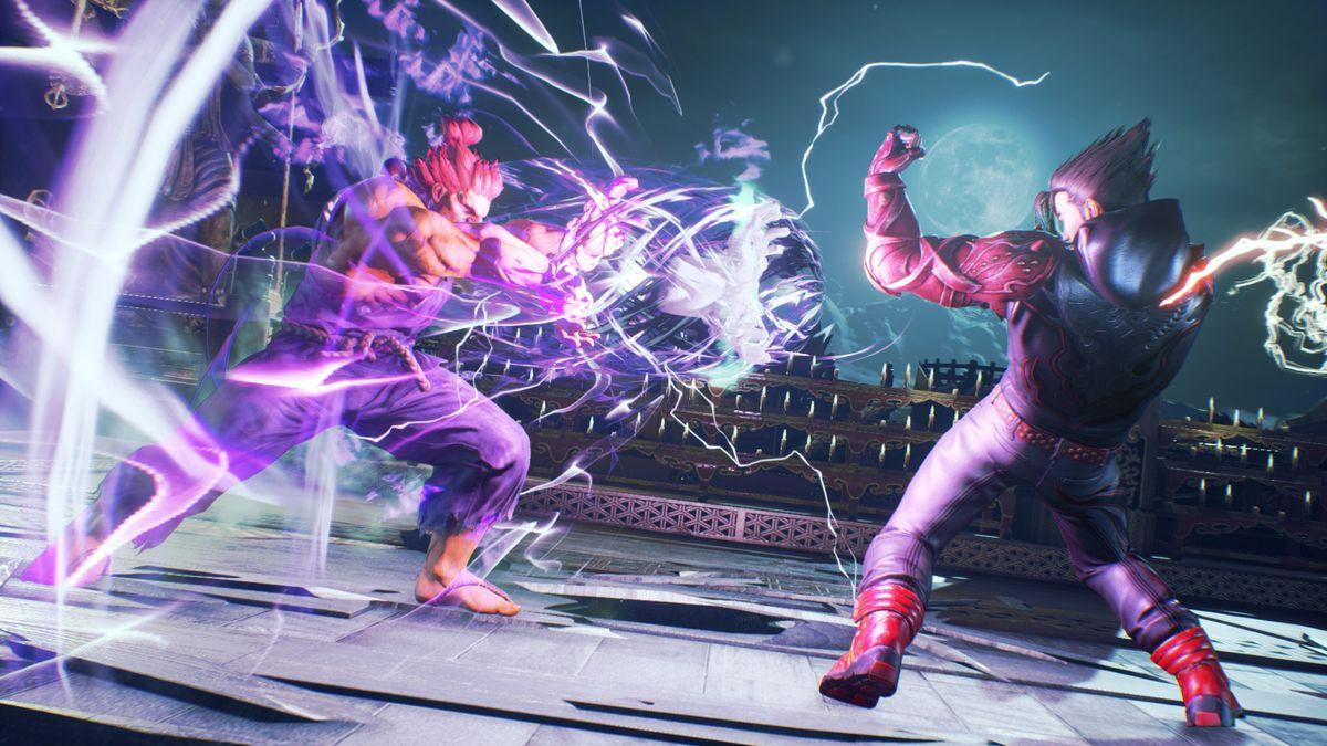 A screenshot from Tekken 7