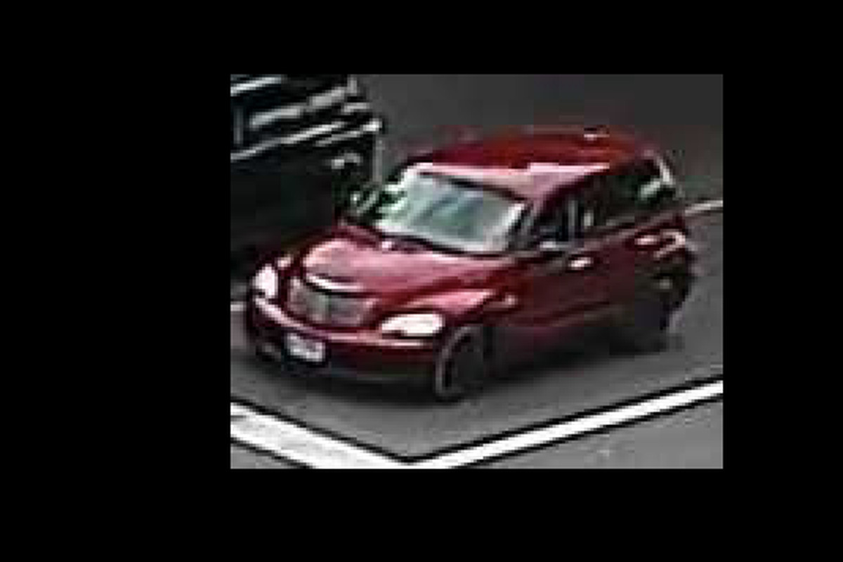 Photo of the vehicle involved in the hit-and-run.