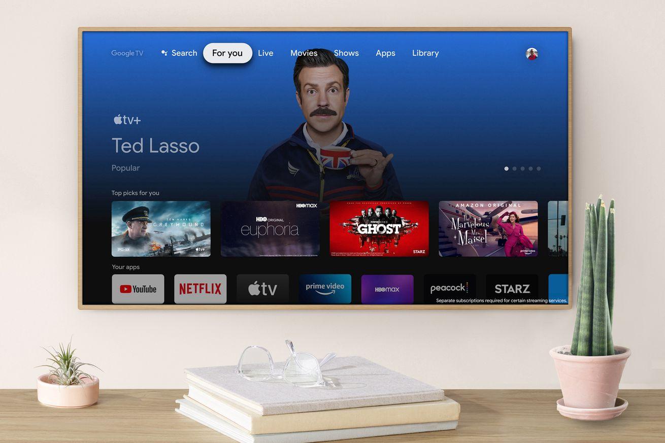Apple TV app now available on the latest Google Chromecast