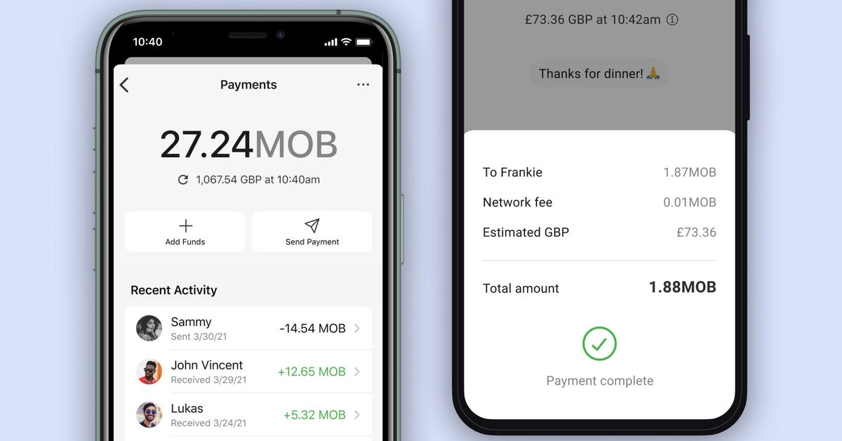 Signal is testing a payments feature that lets you send cryptocurrency to friends