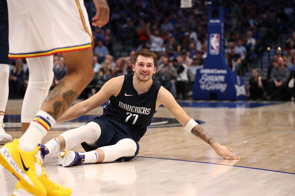 NBA scores: Luka Doncic and the Mavs destroy the Warriors