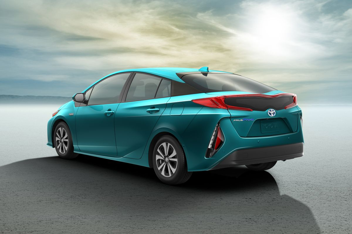 Toyota Today Announced The Prius Prime A Plug In Hybrid Version