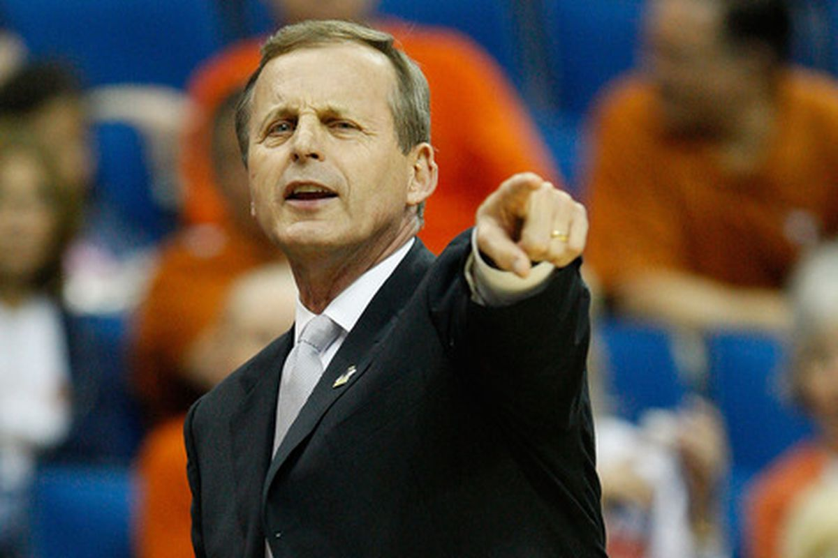Rick Barnes wants that muffin. That one right next to the one you are touching.