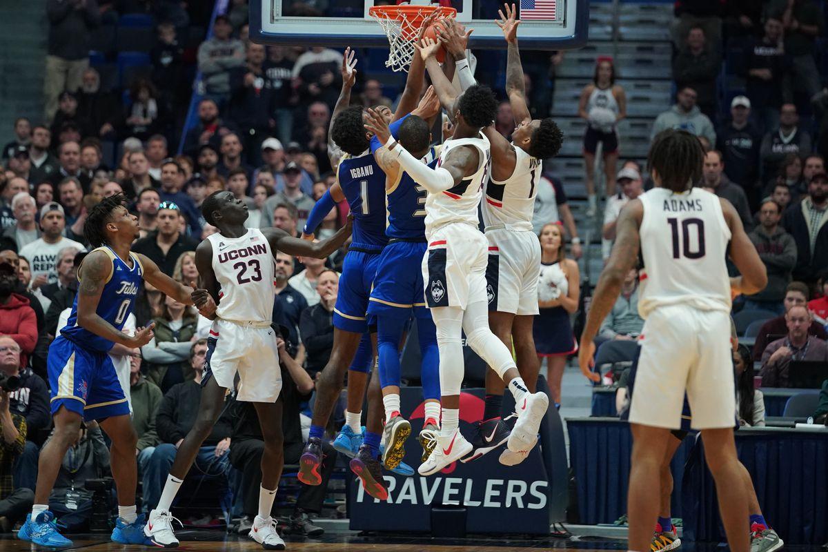 NCAA Basketball: Tulsa at Connecticut
