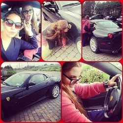 Suri's friend Apple dared her to lick her new Ferrari. It was frozen. Not sure what to do, and afraid of getting in trouble for being late to class, Apple leaves Suri. The teacher has to call the fire department to come detach her tongue from the sports v