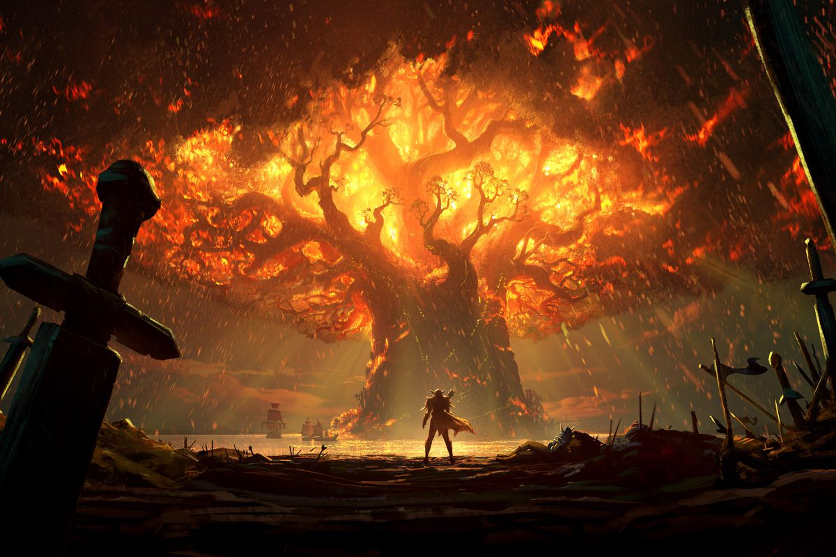 World of Warcraft: Battle for Azeroth - the Burning of Teldrassil