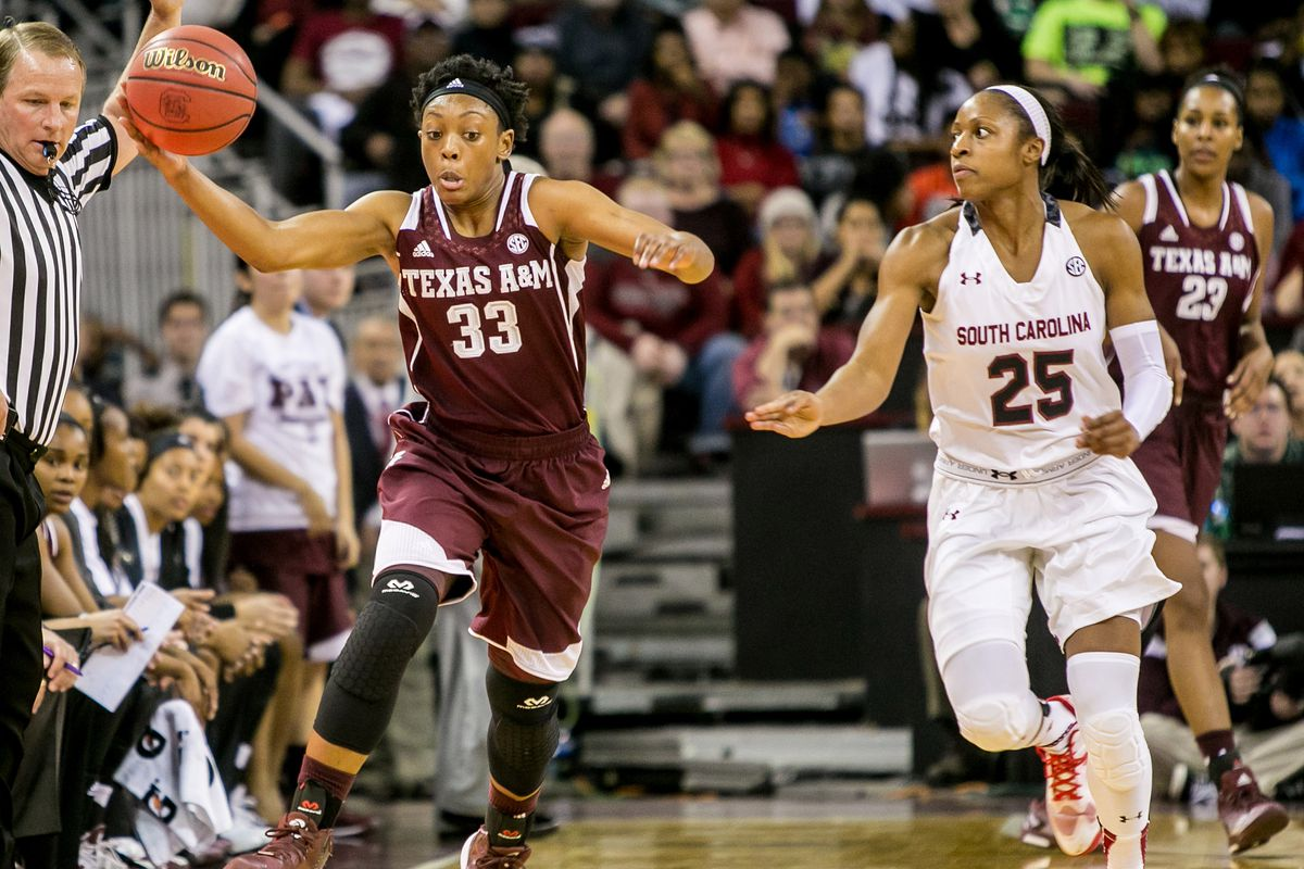 Courtney Walker had 21 as the Ags BTHO LSU in Baton Rouge on Sunday