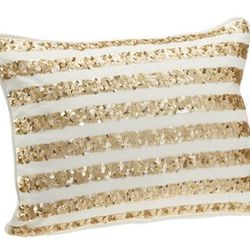 The Emily + Meritt Sequin Pillow Covers, $35.50 (they come in starry patterns, too.)