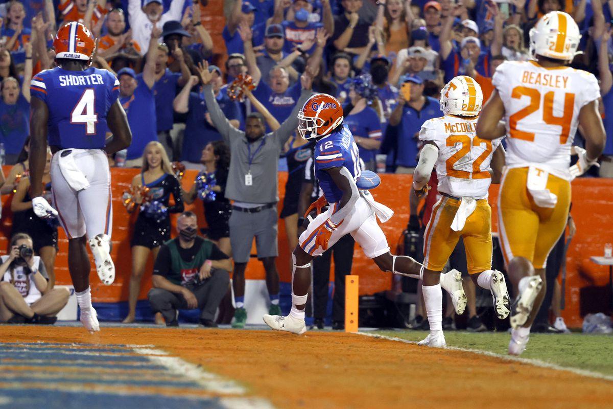 NCAA Football: Tennessee at Florida