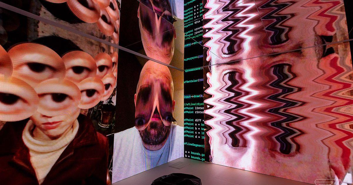 QnA VBage Zach Lieberman's interactive art creates moments of wonder and surprise
