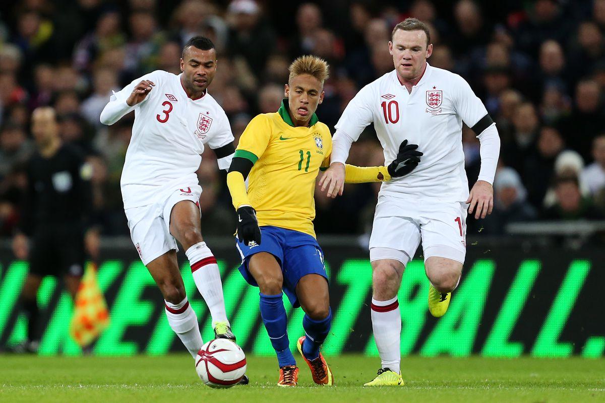 Soccer - International Friendly - England v Brazil