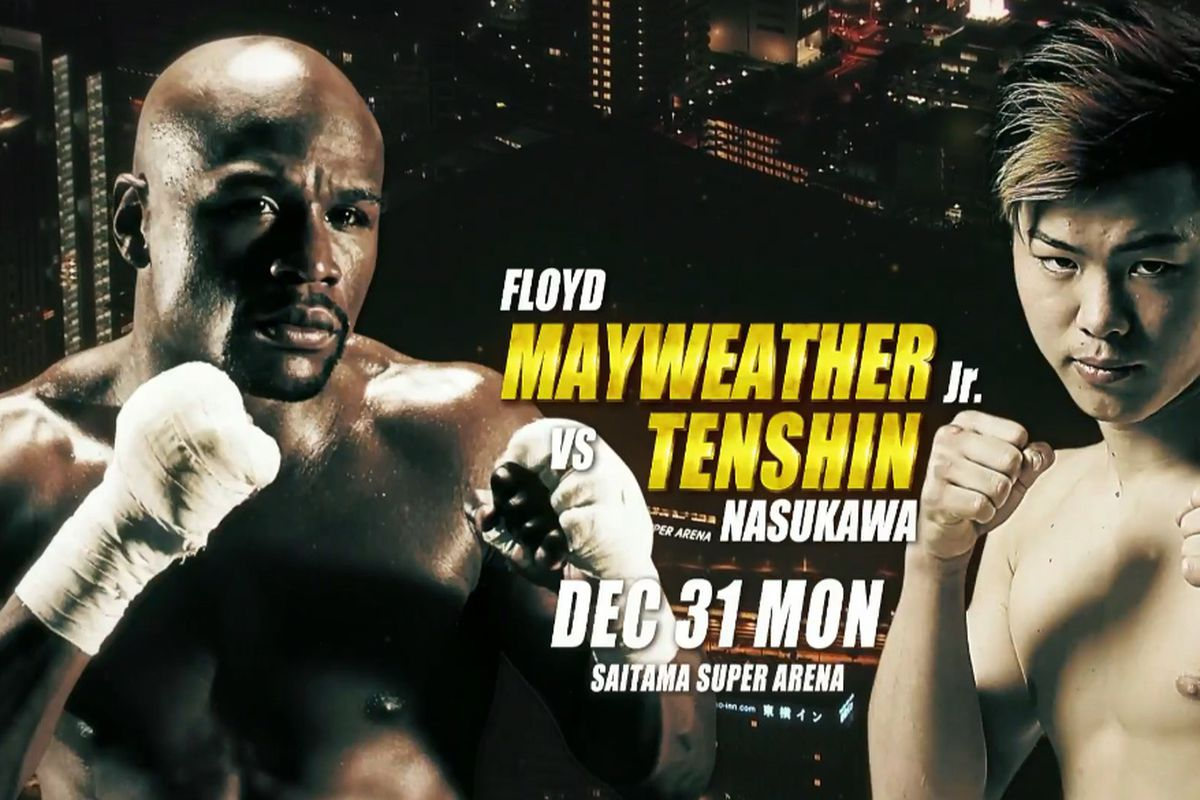 Image result for mayweather vs Japan