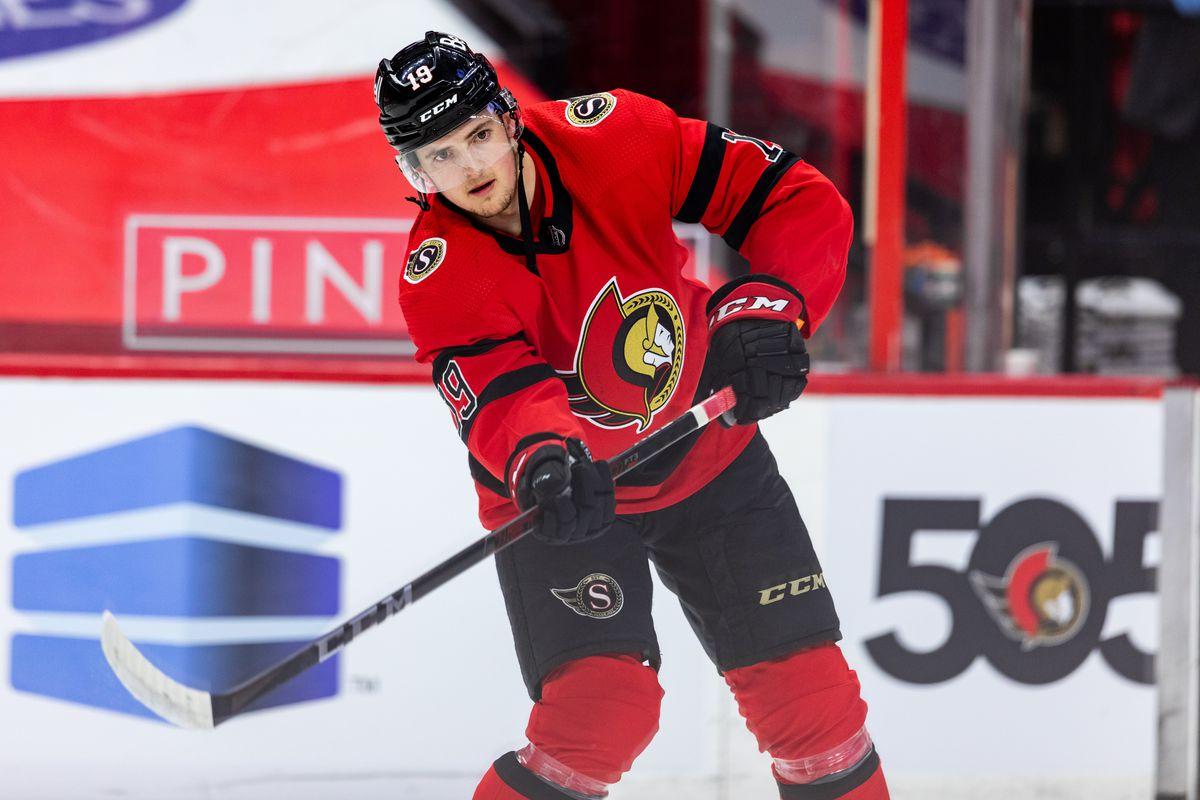 NHL: APR 14 Jets at Senators