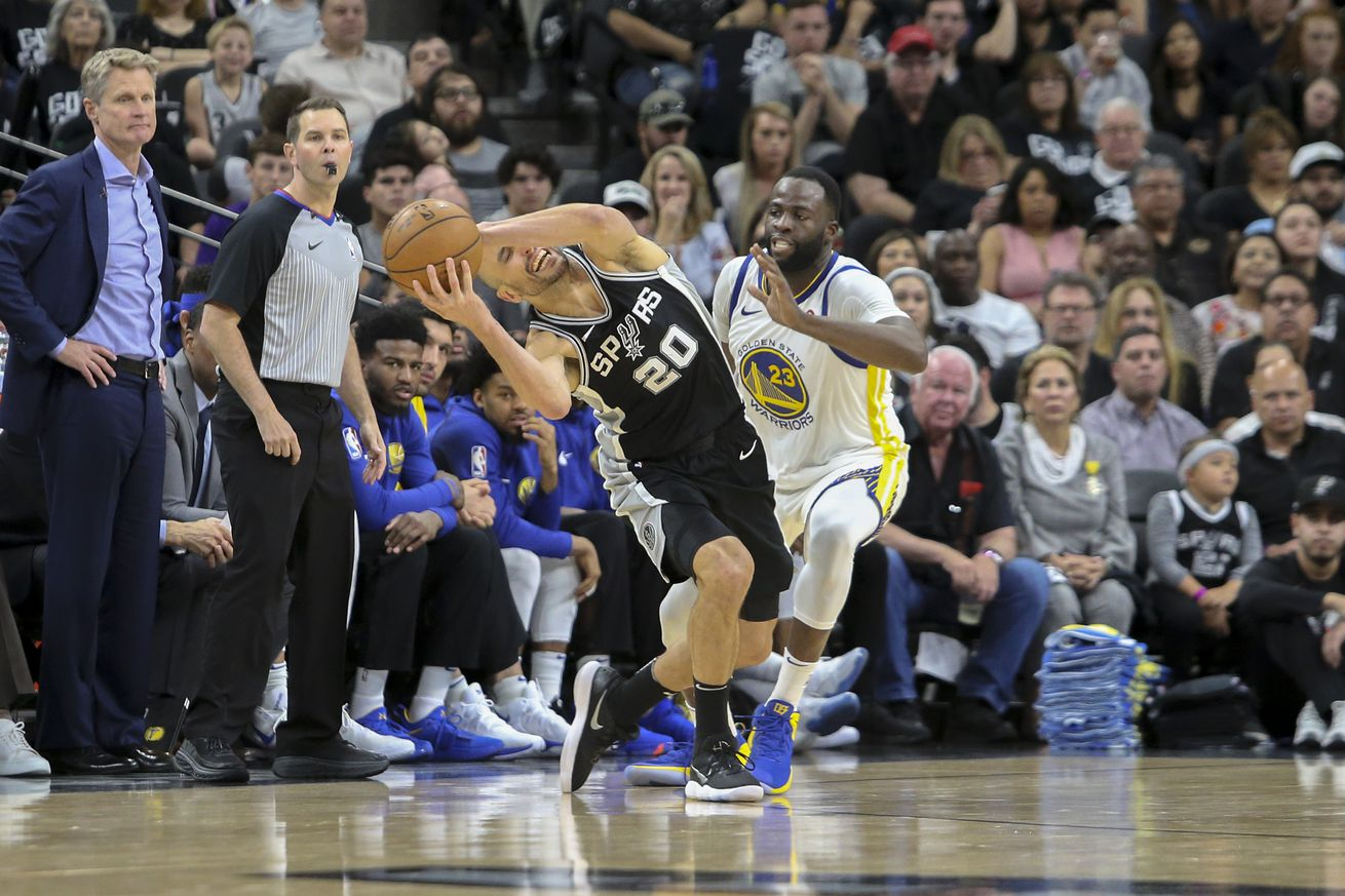 Game Thread For San Antonio Spurs At Golden State Warriors Apr  Pm Cdt