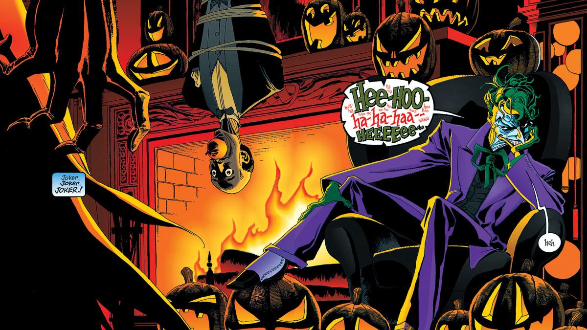 The Best Batman Halloween Comic Stars The Joker As A Ghost