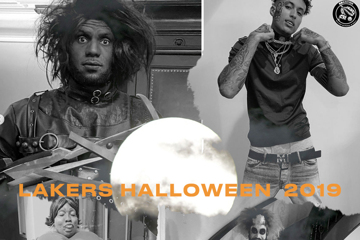 Lakers Halloween Costumes Ranked Silver Screen And Roll