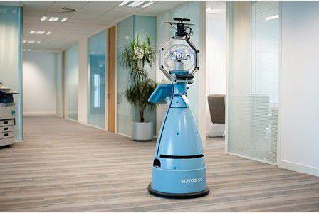 Bob, the robot security guard