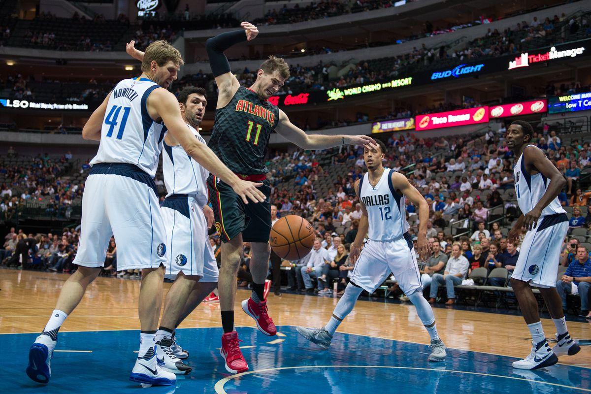 NBA: Preseason-Atlanta Hawks at Dallas Mavericks