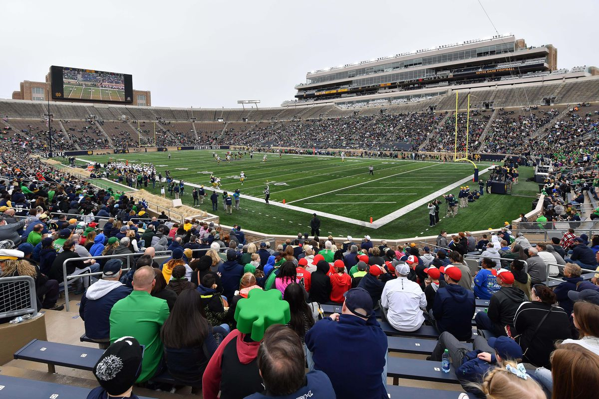 Notre Dame vs  Michigan: Weather Report for Tailgating, Kickoff and