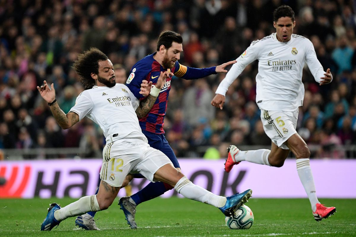 real madrid vs barcelona la liga final score 2 0 madrid destroy barca in second half win el clasico barca blaugranes real madrid vs barcelona la liga