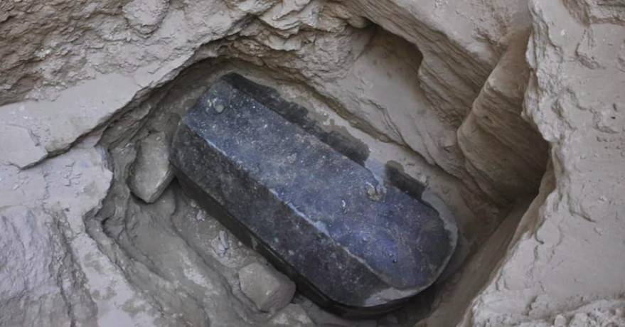 photo image 26 arguments for and against opening Egypt's new mystery sarcophagus