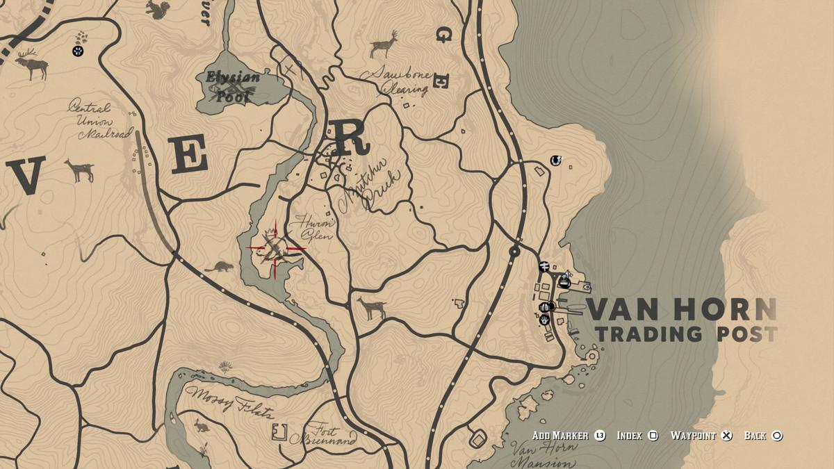 Red Dead Redemption 2Legendary Beaver location