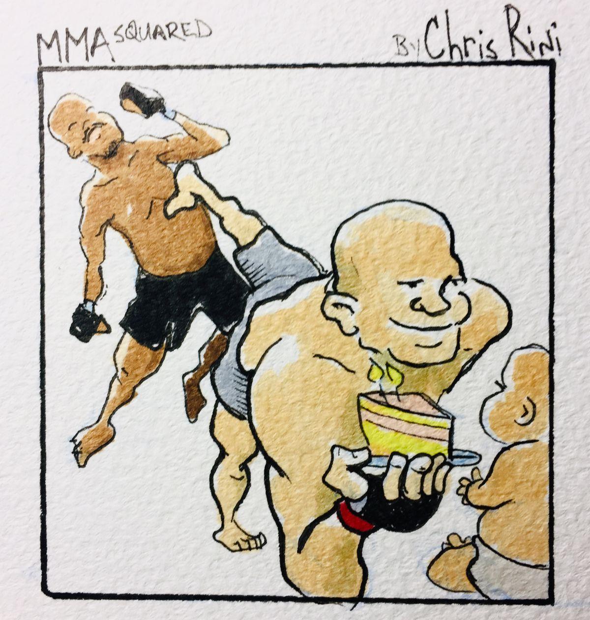 MMA Squared, Chris Rini, Junior dos Santos, JDS, Francis Ngannou, heavyweight,
