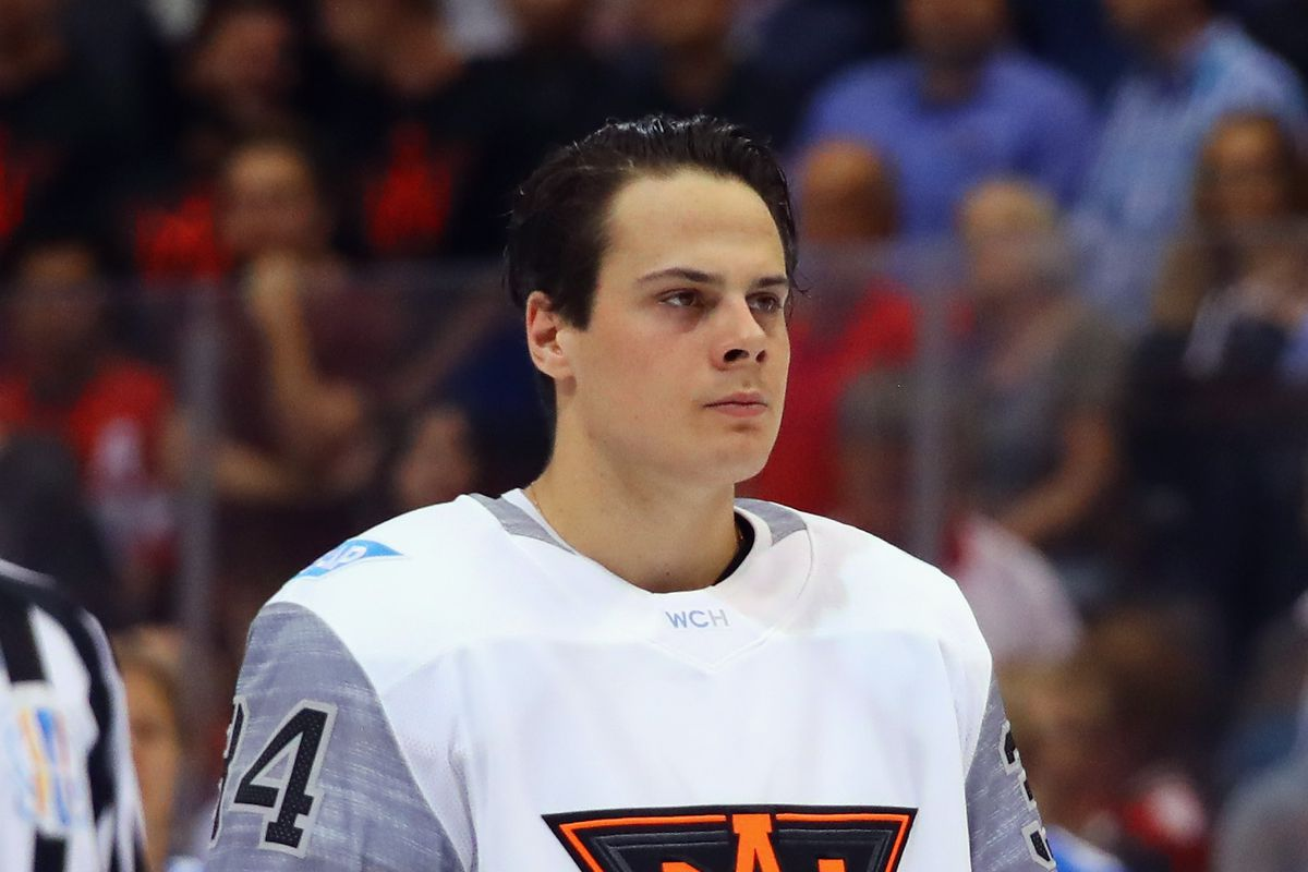 The black jerseys are fine, these are not, not even on Auston.
