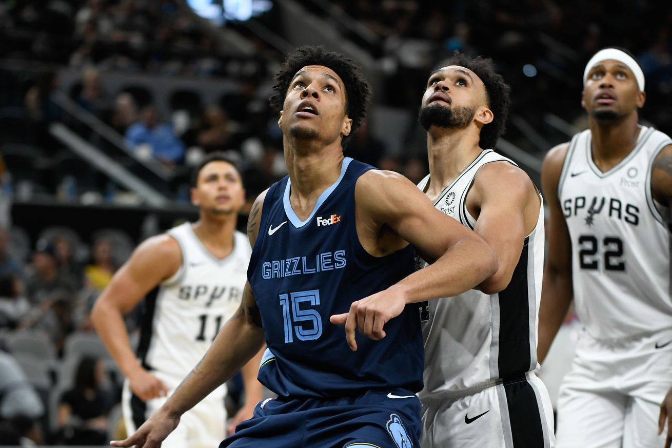 NBA: Preseason-Memphis Grizzlies at San Antonio Spurs