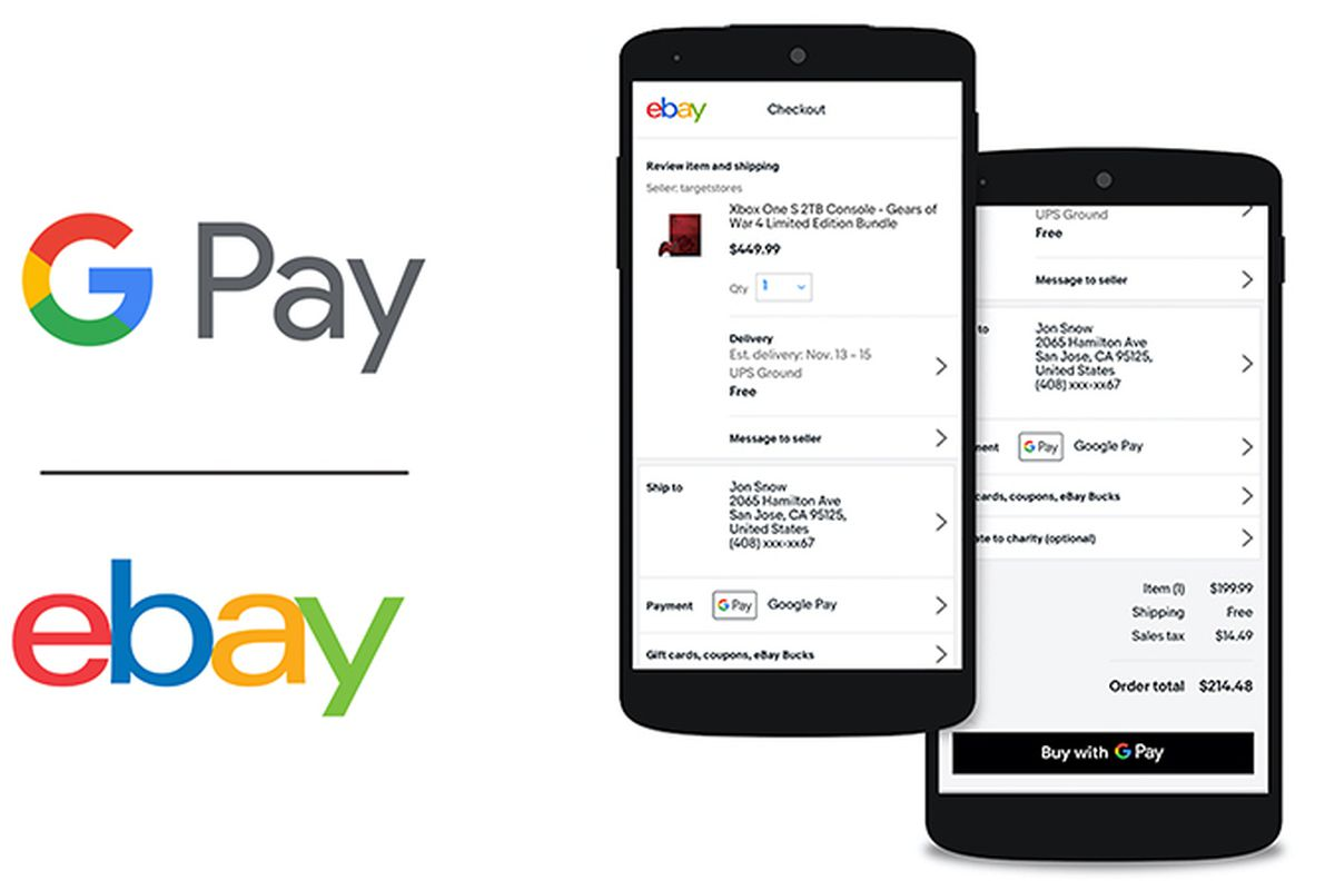 eBay is adding support for Google Pay - The Verge