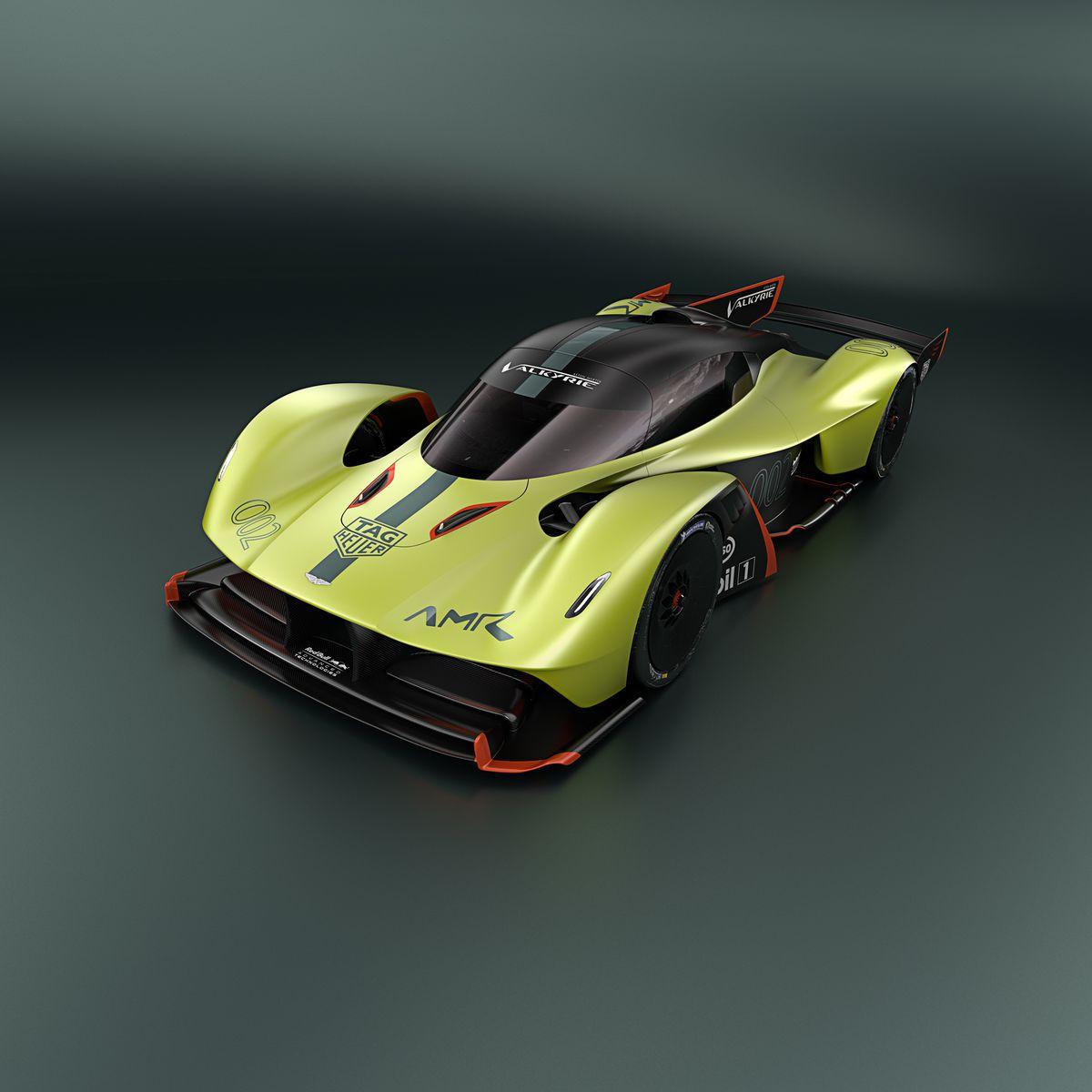 Aston Martin Race Car: Aston Martin's New Hypercar Is An 1,100 Horsepower Asphalt