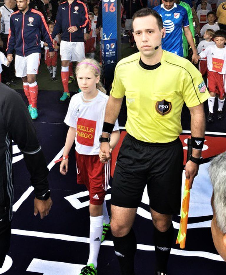 sports shoes 4f5cf ecce9 This gay Major League Soccer referee is coming out to ease ...