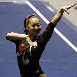 Corrie Lothrop and the Red Rocks host the Salt Lake Regional as the second seed at the Huntsman Center today. Gymnasts from BYU, SUU and Utah State will also compete.