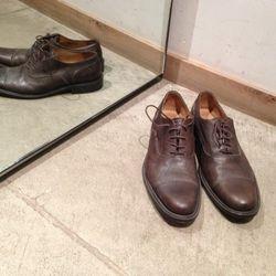 Billy Reid brown Oxfords. Originally  $375, now $150