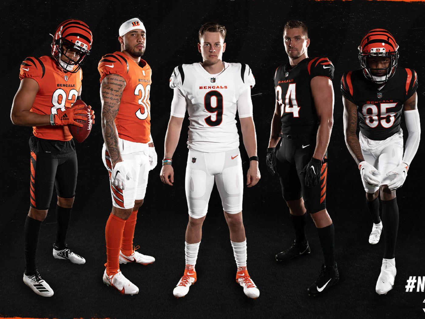 Bengals' new uniforms revealed: NFL news - Cincy Jungle
