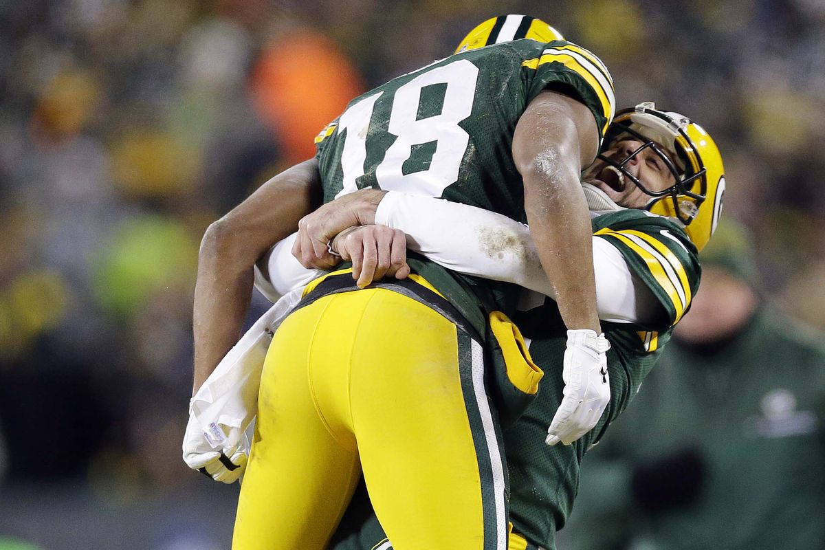 the latest 7deb9 65bc1 Packers top plays of 2016, No. 6: Another Aaron Rodgers Hail ...
