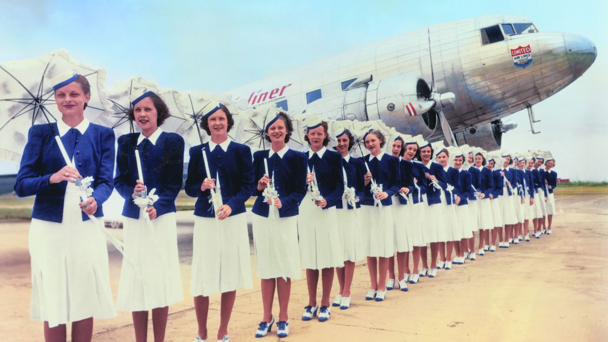 76f90d7f224 A Look at Flight Attendant Uniforms Through History - Racked