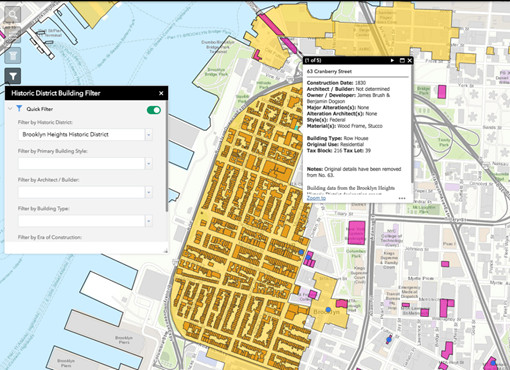 Nyc S Enhanced Interactive Landmarks Map Is A Deep Dive Into City S