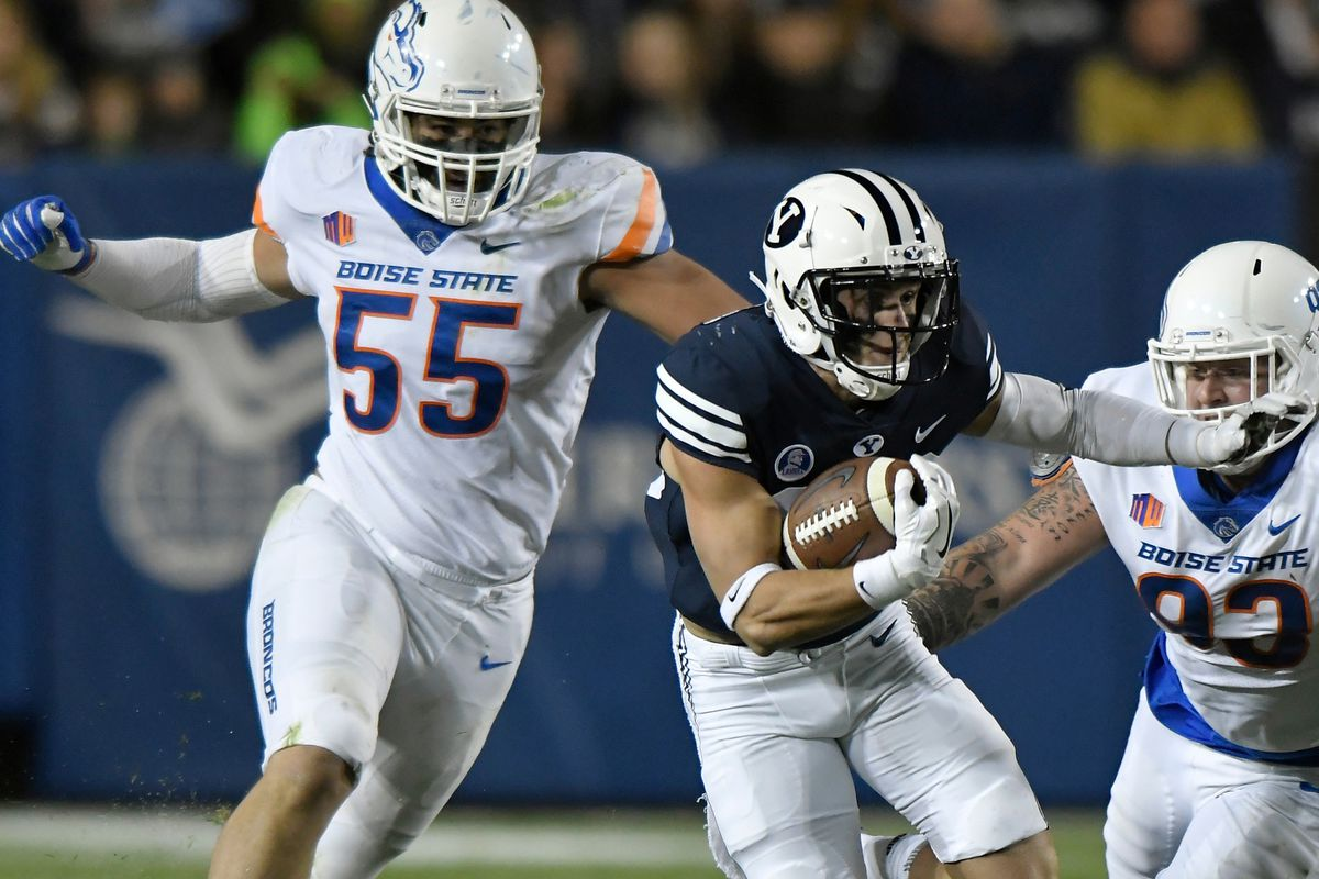 Boise State Roster Countdown 2018 Day 55 David Moa One Bronco