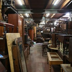 Items for sale at Euro Treasures Antiques in Salt Lake City on Thursday, June 8, 2017.