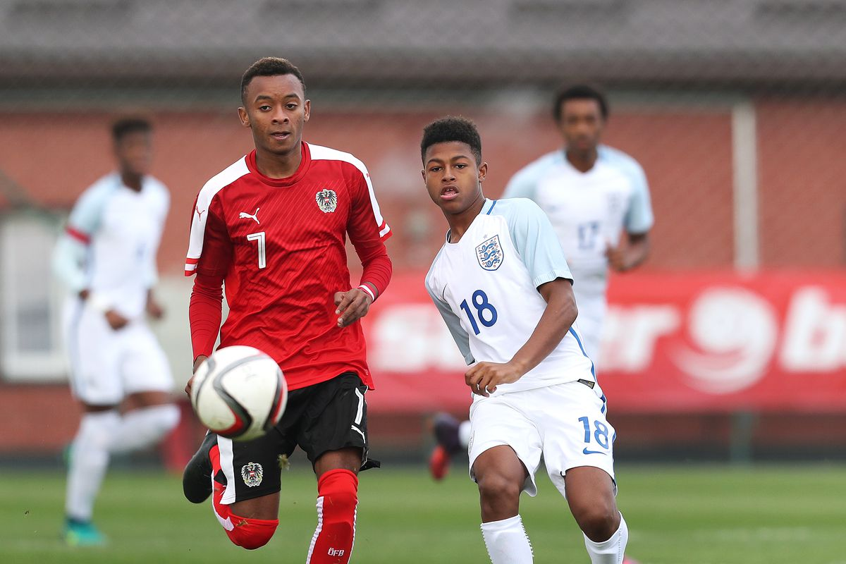Austria v England - UEFA European Under-17 Championship Qualifier