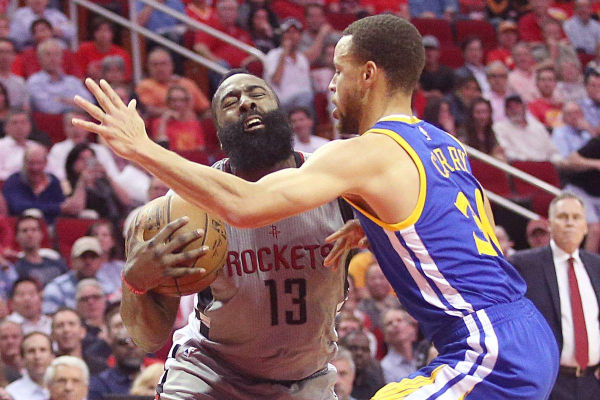 NBA: Golden State Warriors at Houston Rockets