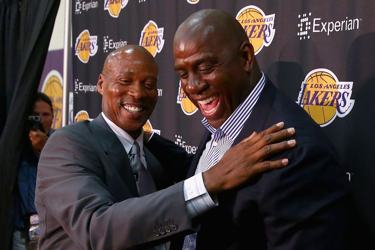 Los Angeles Lakers Introduce Byron Scott