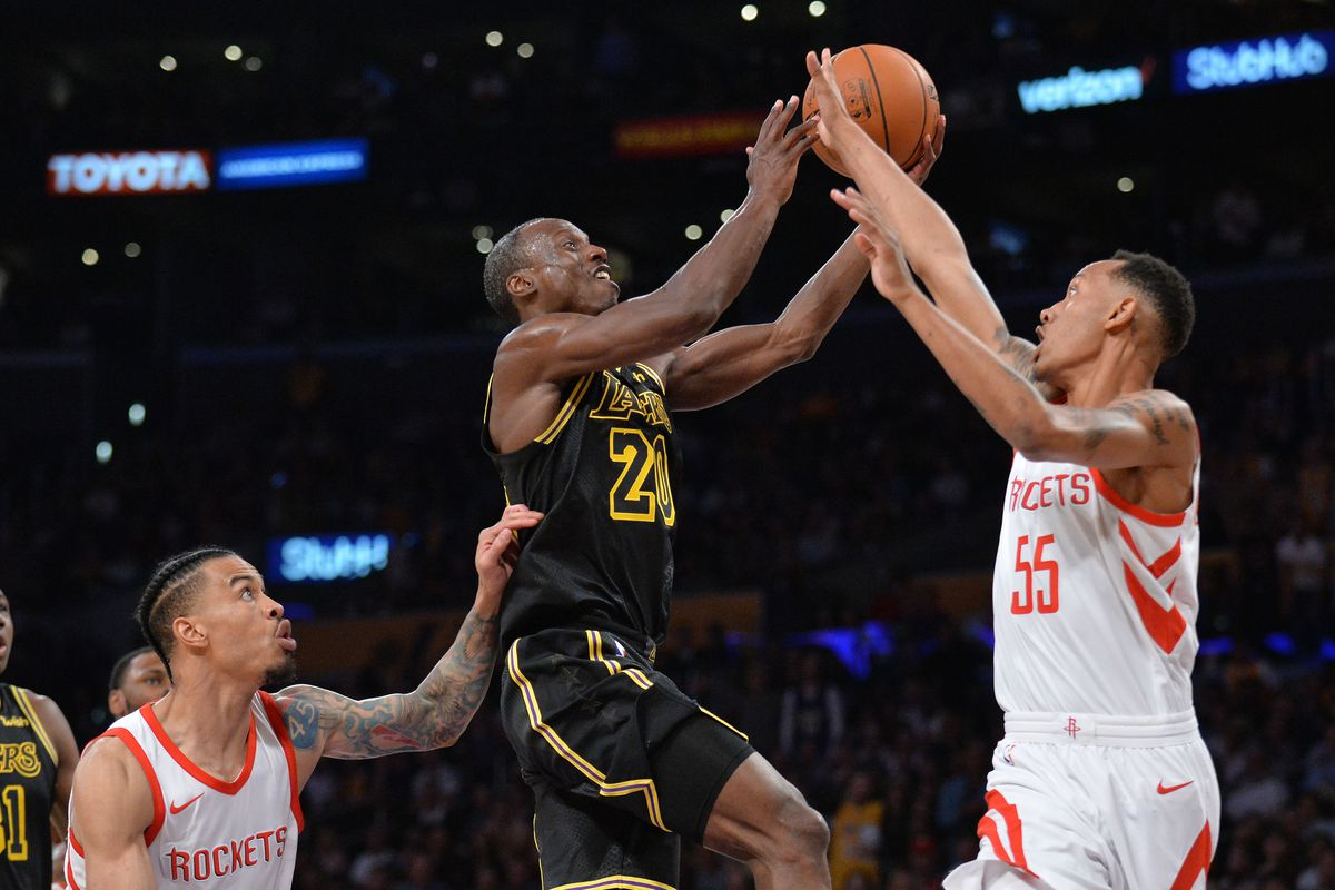 Lakers Spoil Andre Ingrams Electric NBA Debut With 105 99 Loss To Rockets