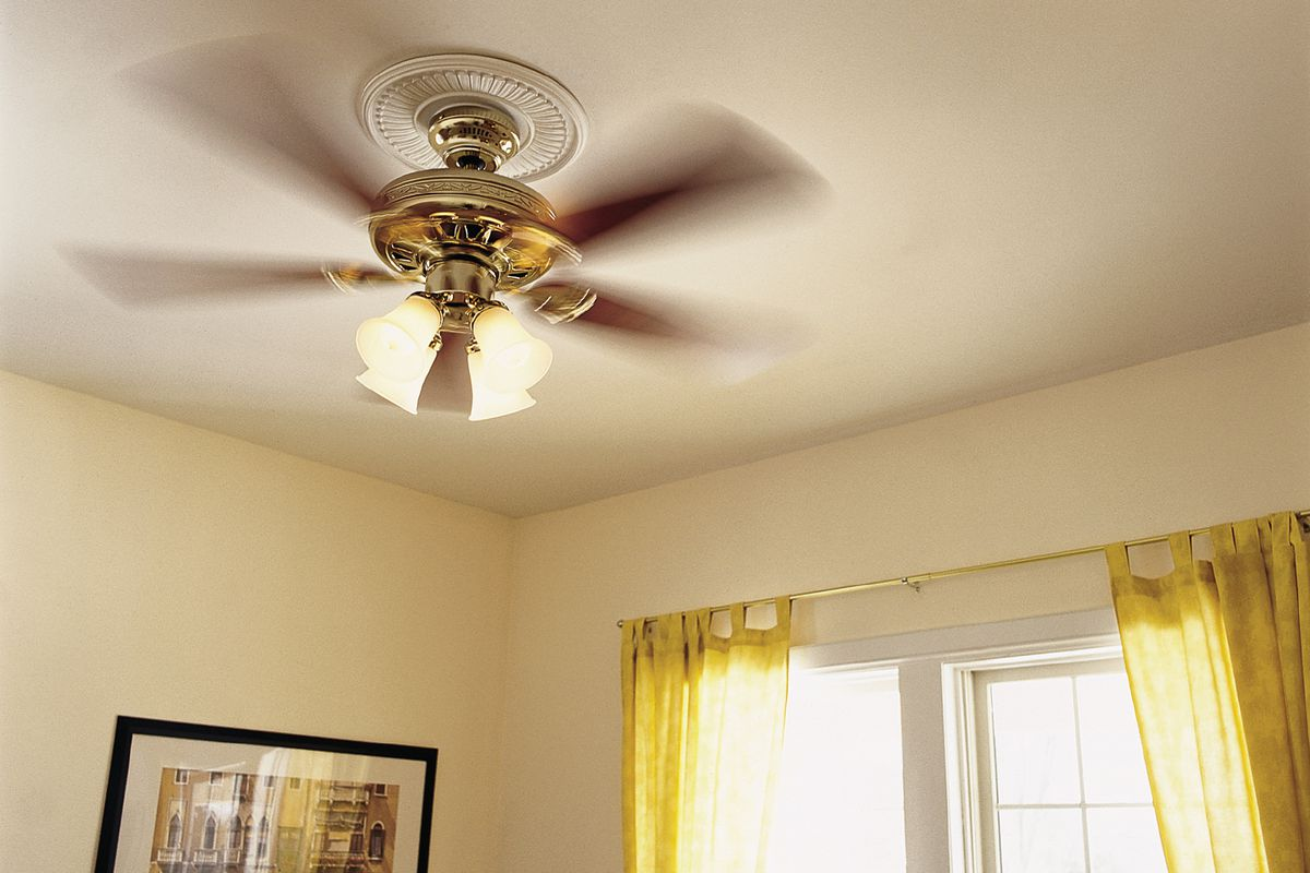 How To Size And Install A Ceiling Fan