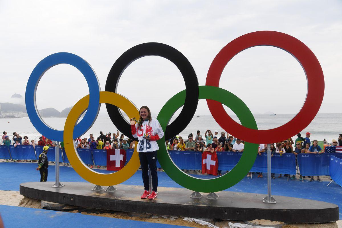 Olympics: Triathlon-Women's Olympic Distance